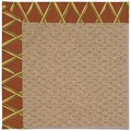 Capel Rugs Creative Concepts Raffia - Bamboo Cinnamon (856) Rectangle 8