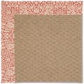 Capel Rugs Creative Concepts Raffia - Imogen Cherry (520) Rectangle 12