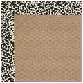 Capel Rugs Creative Concepts Raffia - Coral Cascade Ebony (385) Rectangle 12