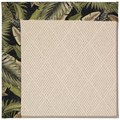 Capel Rugs Creative Concepts White Wicker - Bahamian Breeze Coal (325) Octagon 4