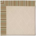 Capel Rugs Creative Concepts White Wicker - Dorsett Autumn (714) Octagon 4