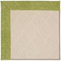 Capel Rugs Creative Concepts White Wicker - Tampico Palm (226) Octagon 6