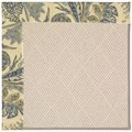 Capel Rugs Creative Concepts White Wicker - Cayo Vista Ocean (425) Octagon 6