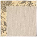 Capel Rugs Creative Concepts White Wicker - Cayo Vista Graphic (315) Octagon 8