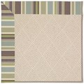 Capel Rugs Creative Concepts White Wicker - Brannon Whisper (422) Octagon 8