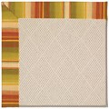 Capel Rugs Creative Concepts White Wicker - Kalani Samba (224) Octagon 10