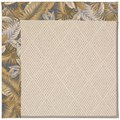 Capel Rugs Creative Concepts White Wicker - Bahamian Breeze Ocean (420) Octagon 10