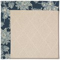 Capel Rugs Creative Concepts White Wicker - Bandana Indigo (465) Octagon 10
