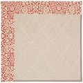 Capel Rugs Creative Concepts White Wicker - Imogen Cherry (520) Octagon 10