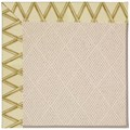 Capel Rugs Creative Concepts White Wicker - Bamboo Rattan (706) Octagon 10