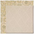 Capel Rugs Creative Concepts White Wicker - Paddock Shawl Mineral (310) Octagon 12