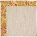 Capel Rugs Creative Concepts White Wicker - Tuscan Vine Adobe (830) Octagon 12