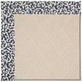 Capel Rugs Creative Concepts White Wicker - Coral Cascade Navy (450) Runner 2