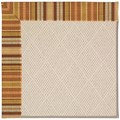 Capel Rugs Creative Concepts White Wicker - Vera Cruz Samba (735) Runner 2
