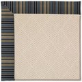 Capel Rugs Creative Concepts White Wicker - Vera Cruz Ocean (445) Rectangle 3