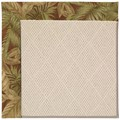 Capel Rugs Creative Concepts White Wicker - Bahamian Breeze Cinnamon (875) Rectangle 3