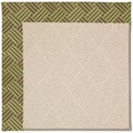 Capel Rugs Creative Concepts White Wicker - Dream Weaver Marsh (211) Rectangle 4