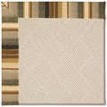 Capel Rugs Creative Concepts White Wicker - Kalani Coal (330) Rectangle 8