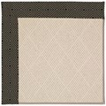 Capel Rugs Creative Concepts White Wicker - Fortune Lava (394) Rectangle 8