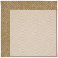 Capel Rugs Creative Concepts White Wicker - Tampico Rattan (716) Rectangle 8