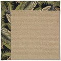 Capel Rugs Creative Concepts Sisal - Bahamian Breeze Coal (325) Octagon 4