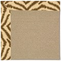 Capel Rugs Creative Concepts Sisal - Couture King Chestnut (756) Octagon 4