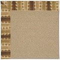 Capel Rugs Creative Concepts Sisal - Java Journey Chestnut (750) Octagon 6