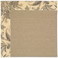Capel Rugs Creative Concepts Sisal - Cayo Vista Graphic (315) Octagon 8