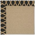Capel Rugs Creative Concepts Sisal - Bamboo Coal (356) Octagon 8