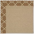 Capel Rugs Creative Concepts Sisal - Arden Chocolate (746) Octagon 10