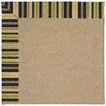 Capel Rugs Creative Concepts Sisal - Vera Cruz Coal (350) Octagon 12