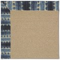 Capel Rugs Creative Concepts Sisal - Java Journey Indigo (460) Octagon 12