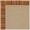 Capel Rugs Creative Concepts Sisal - Tuscan Stripe Adobe (825) Runner 2