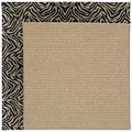 Capel Rugs Creative Concepts Sisal - Wild Thing Onyx (396) Rectangle 3