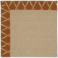 Capel Rugs Creative Concepts Sisal - Bamboo Cinnamon (856) Rectangle 4