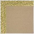Capel Rugs Creative Concepts Sisal - Coral Cascade Avocado (225) Rectangle 6