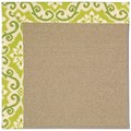 Capel Rugs Creative Concepts Sisal - Shoreham Kiwi (220) Rectangle 7