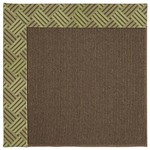 Capel Rugs Creative Concepts Java Sisal - Dream Weaver Marsh (211) Octagon 4' x 4' Area Rug