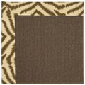 Capel Rugs Creative Concepts Java Sisal - Couture King Chestnut (756) Octagon 4