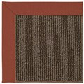 Capel Rugs Creative Concepts Java Sisal - Canvas Brick (850) Octagon 4