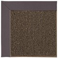 Capel Rugs Creative Concepts Java Sisal - Fife Plum (470) Octagon 6
