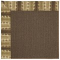 Capel Rugs Creative Concepts Java Sisal - Java Journey Chestnut (750) Octagon 6