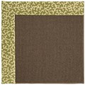 Capel Rugs Creative Concepts Java Sisal - Coral Cascade Avocado (225) Octagon 8