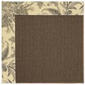 Capel Rugs Creative Concepts Java Sisal - Cayo Vista Graphic (315) Octagon 8