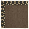 Capel Rugs Creative Concepts Java Sisal - Bamboo Coal (356) Octagon 8