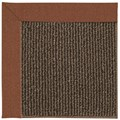 Capel Rugs Creative Concepts Java Sisal - Linen Chili (845) Octagon 8