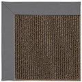 Capel Rugs Creative Concepts Java Sisal - Canvas Charcoal (355) Octagon 10