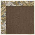 Capel Rugs Creative Concepts Java Sisal - Bahamian Breeze Ocean (420) Octagon 10