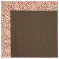Capel Rugs Creative Concepts Java Sisal - Imogen Cherry (520) Octagon 10