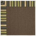 Capel Rugs Creative Concepts Java Sisal - Vera Cruz Coal (350) Octagon 12
